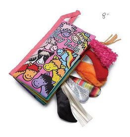 Jellycat jellycat pony tails cloth book