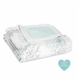 Aden + Anais aden + anais metallic skylight birch silky soft dream blanket