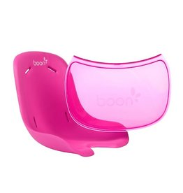 Boon boon flair pedestal seat pad and tray liner - pink