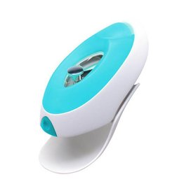 Boon boon flo water deflector + faucet cover - blue