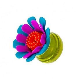 Boon boon forb mini soap dispensing brush - blue multi