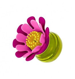 Boon boon forb mini soap dispensing brush - pink multi
