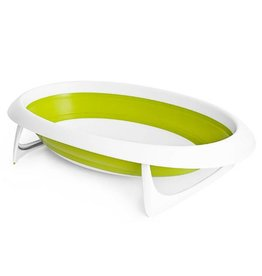 Boon boon naked 2 position collapsible baby bathtub - green
