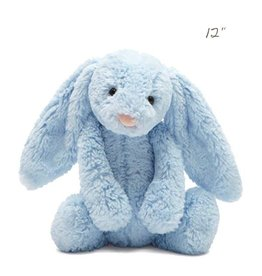 Jellycat jellycat bashful baby blue bunny with chime - medium