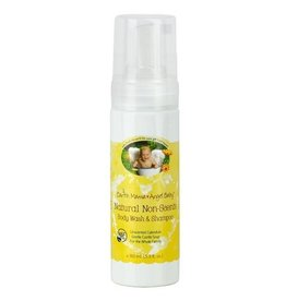 Earth Mama Angel Baby earth mama angel baby shampoo + body wash - natural non-scents 160 ml