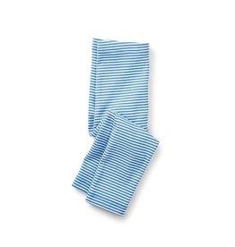 Tea Collection tea collection striped capri leggings - atlas blue