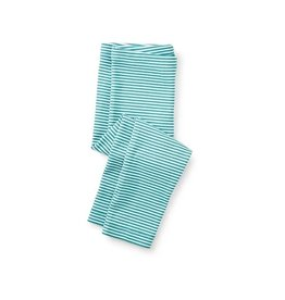 Tea Collection tea collection striped capri leggings - mermaid