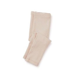 Tea Collection tea collection striped capri leggings - peach blush