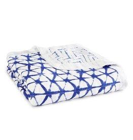 Aden + Anais aden + anais indigo shibori silky soft dream blanket