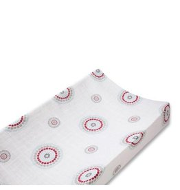 Aden + Anais aden + anais liam the brave medallion classic changing pad cover