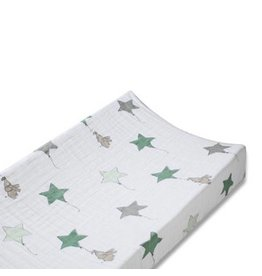 Aden + Anais aden + anais up up and away elephant star classic changing pad cover