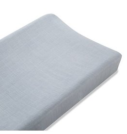 Aden + Anais aden + anais moonlight grey silky soft changing pad cover