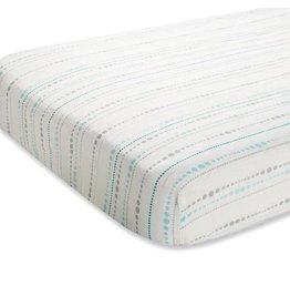 Aden + Anais aden + anais azure beads silky soft crib sheet