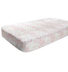 Aden + Anais aden + anais tranquility leafy silky soft crib sheet
