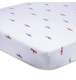 Aden + Anais aden + anais snuggle bug organic crib sheet