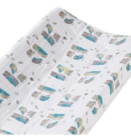 Aden + Anais aden + anais wise guys organic changing pad cover