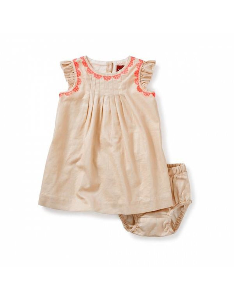 Tea Collection tea collection victoria embroidered baby dress