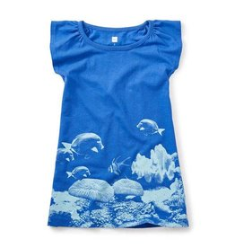 Tea Collection tea collection damselfish photoreal dress