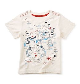 Tea Collection tea collection snapper island graphic tee