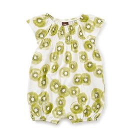 Tea Collection tea collection cutest kiwi smocked romper