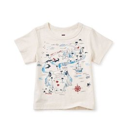 Tea Collection tea collection snapper island graphic baby tee