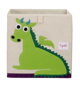 3 Sprouts 3 sprouts storage box - green dragon