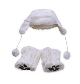Manhattan Toy baby stella cozy cute hat + boots set