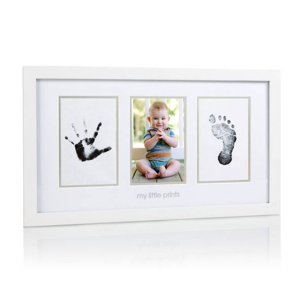 Pearhead My Little Prints Photo Frame - White - Baby Charlotte