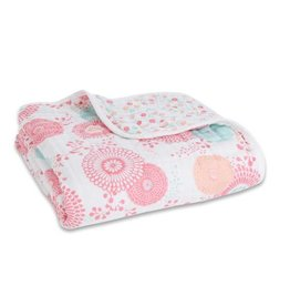 Aden + Anais aden + anais tea collection global garden classic dream blanket