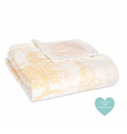 Aden + Anais aden + anais metallic primrose birch silky soft dream blanket