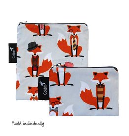 Colibri colibri reusable snack bag - foxes