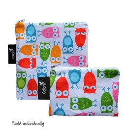 Colibri colibri reusable snack bag - girl owls