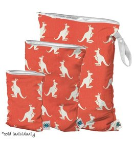 Planet Wise planet wise wet bag - coral kangaroo twill