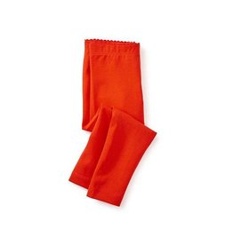 Tea Collection tea collection solid baby leggings - vermillion