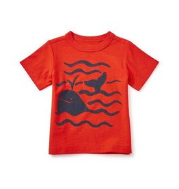 Tea Collection tea collection the minch graphic baby tee