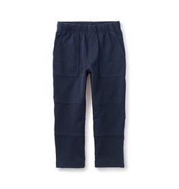 Tea Collection tea collection french terry playwear pants - heritage blue