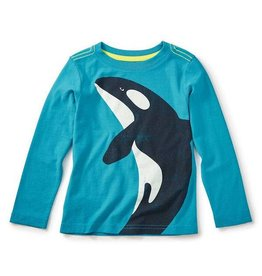 Tea Collection tea collection orca graphic tee