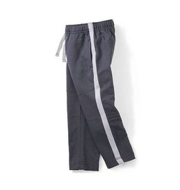 Tea Collection tea collection side stripe sport pants - coal