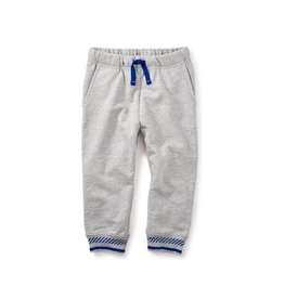 Tea Collection tea collection baby joggers - med heather grey