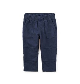 Tea Collection tea collection baby knit playwear pants - heritage blue