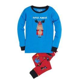Hatley hatley kids pajama set - super heros