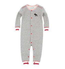 Hatley hatley baby union suit - canadiana moose