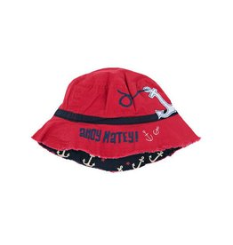 Hatley hatley kids bucket hat - boy anchors