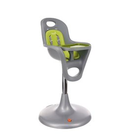Boon boon flair pedestal highchair grey & green