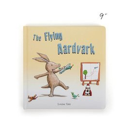 Jellycat jellycat the flying aardvark board book
