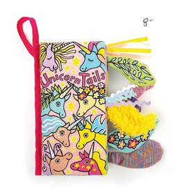 jellycat unicorn tails cloth book