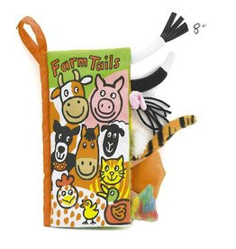 Jellycat jellycat farm tails cloth book