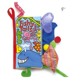 Jellycat jellycat fishy tails cloth book
