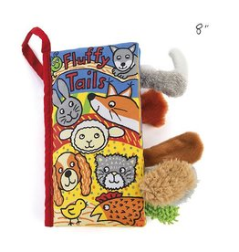 Jellycat jellycat fluffy tails cloth book