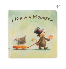 Jellycat jellycat i know a monkey board book